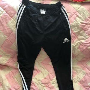 EUC Adidas Black & White Climacool Track Pant Med